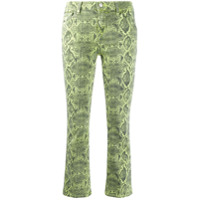 J Brand Calça Jeans Cropped Selena - Verde