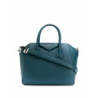 Givenchy Bolsa Pequena Antigona De Couro - Azul