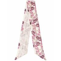 Dsquared2 Echarpe Com Estampa Floral - Rosa
