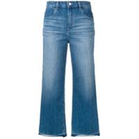 J Brand Calça Jeans Com Acabamento Puído - Azul