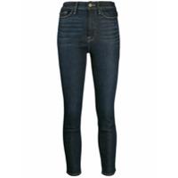 Frame Calça Jeans Skinny Cropped Ali - Azul