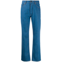 Victoria Victoria Beckham Calça Jeans Cropped Arizona - Azul