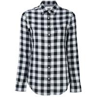 Rag & Bone /jean Camisa Xadrez - Preto
