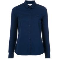 Lacoste Camisa Com Bolso - Azul Marinho Tradicional