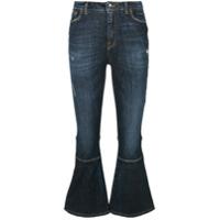 Dolce & Gabbana Calça Jeans Flare - Azul