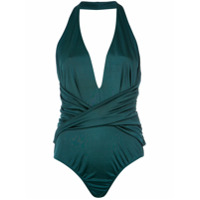Tufi Duek Body Com Recortes - Verde