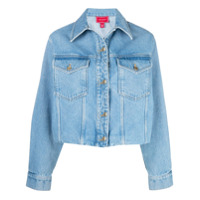 Hilfiger Collection Jaqueta Jeans Dupla Face - Azul
