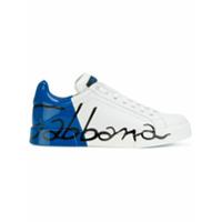 Dolce & Gabbana Tênis Com Logo - Branco