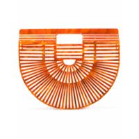 Cult Gaia Clutch 'ark' - Orange