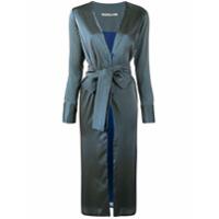 Silvia Tcherassi Vestido 'naomi' Listrado - Azul
