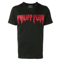 Philipp Plein Camiseta Com Logo - Preto