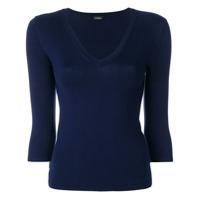 La Perla Suéter Decote V - Azul