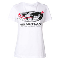 Helmut Lang Camiseta World - Branco