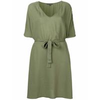 Sophie Deloudi Vestido Com Cinto - Green