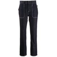 Chloé Calça Jeans Cintura Alta - Azul