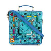 Olympia Le-Tan Clutch 'paris Game Board' - Azul