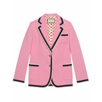 Gucci Stretch Viscose Jacket - Rosa