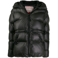 Hunter A-Line Puffer Jacket - Preto