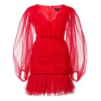 Kalmanovich Vestido Slim - Vermelho