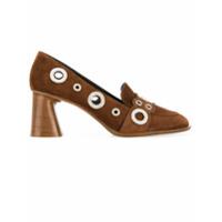 Premiata Sapato De Camurça - Marrom