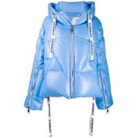 Khrisjoy Hooded Puffer Jacket - Azul