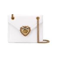 244892145 Dolce & Gabbana Bolsa Tiracolo Devotion De Couro - Branco ...