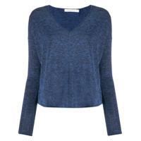 Rag & Bone Suéter Decote Em V - Azul
