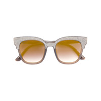 Jimmy Choo Eyewear Óculos De Sol 'mayela' - Marrom