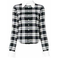 Matthew Adams Dolan Checked Shirt - Preto