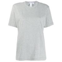 Comme Des Garçons Shirt Camiseta Com Gola Careca - Cinza