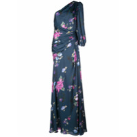 Jill Jill Stuart Vestido De Festa Floral - Azul