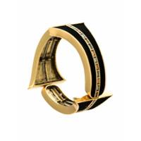 Camila Klein Bracelete Com Recortes - Metálico