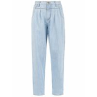 Amapô Calça Jeans 'pregas Ice' - Azul