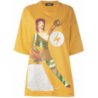 Undercover Camisa Oversized David Bowie - Amarelo