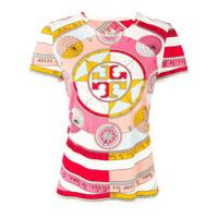 Tory Burch Camiseta Constellation Com Estampa - Rosa