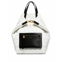 Givenchy Mochila Matelassê Com Bolso - Branco