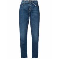Saint Laurent Calça Jeans Cenoura - Azul