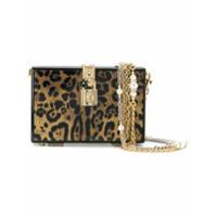 Dolce & Gabbana Bolsa 'dolce Box' Animal Print - Preto