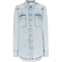 Calvin Klein Jeans Est. 1978 Camisa Jeans 'western' - Azul