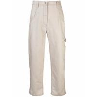 Brunello Cucinelli Calça Workwear - Marrom