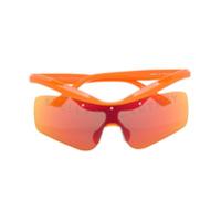 Stella Mccartney Óculos De Sol Com Logo - Laranja