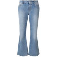Alexander Mcqueen Calça Jeans Flare - Azul