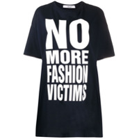 Katharine Hamnett London Camiseta Oversized - Azul