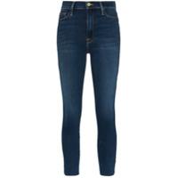 Frame Calça Jeans Com Cintura Alta - Azul