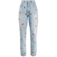 Fiorucci Calça Jeans Mini Angels Tara - Azul