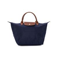 Longchamp Bolsa Tote Le Pliage Média - Azul