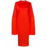 Solace London Vestido Oversized - Laranja