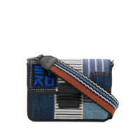 Etro Embroidered Crossbody Bag - Azul