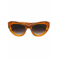 Pomellato Eyewear Óculos De Sol De Gatinho - Marrom