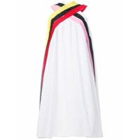MSGM Vestido bordado - Branco
